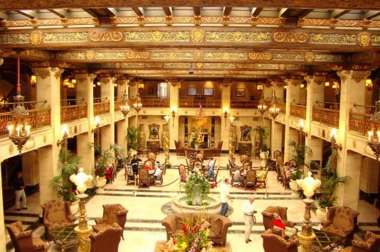 Davenport Hotel Lobby Restoration