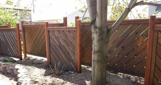 Cedar Fence Panels