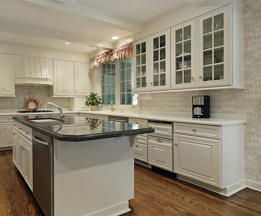Cabinetry Refinishing - An interior painting option