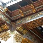 Davenport Lobby - Plaster Relief Detail Work